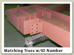 Matching Truss w/ID Number