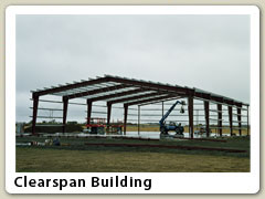 Clearspan building