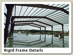 nterior perspective of rigid frame